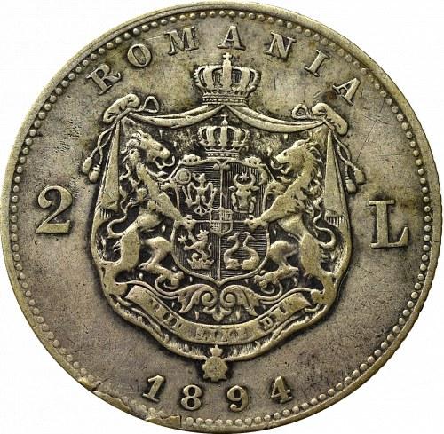 Rumunia, Karol I, 2 lei 1890