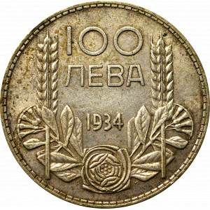 Bułgaria, 100 lewa 1934