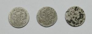 Kingdom of Poland, Nicholas I, set 5 groschen 1819 - 1823