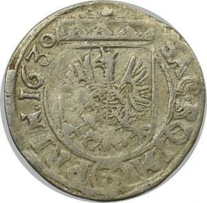 Bohemia, Albrecht von Wallenstein, 3 kreuzer 1630, Jicin