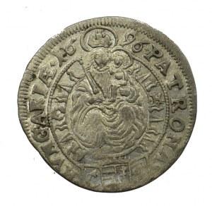 Hungary, 3 kreuzer 1696 Bratislava