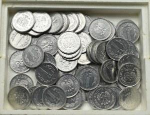 PRL, Zestaw monet o nominale 1 złoty, rocznik 1982 i 1988