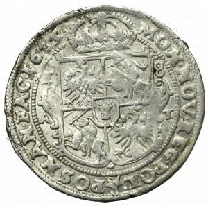 Jan II Kazimierz, Ort 1655, Poznań - PIĘKNY