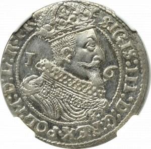 Zygmunt III Waza, Ort 1625, Gdańsk - NGC MS65 (2-MAX)