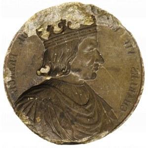 Europa, Odbitka w tworzywie patrycy medalu Karol VII