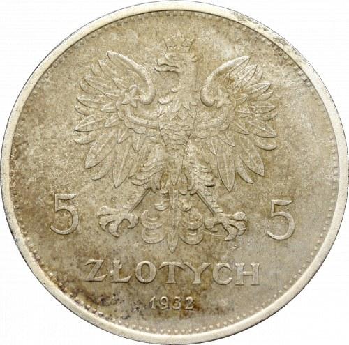 II Republic of Poland, 5 zloty 1932 Nike