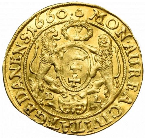 John II Casimir Vasa, Ducat 1660, Danzig