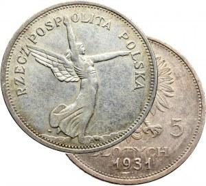 II Republic of Poland, 5 zloty 1931 Nike