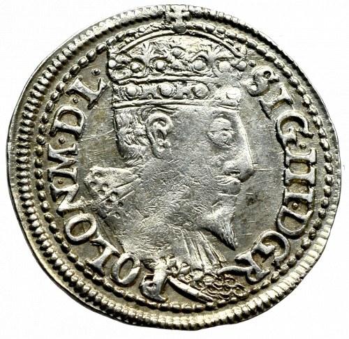 Sigismund III, 3 groschen 1596, Olcusia