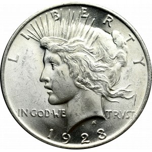 USA, Peace Dollar 1923, Philadelphia