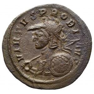 Roman Empire, Probus, Antoninian Ticinum - rare shield