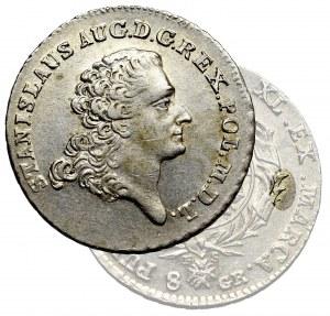 Stanislaus Augustus, 8 groschen 1768