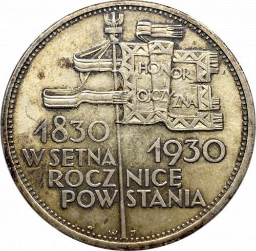 II Republic of Poland, 5 zloty 1930 November uprising - PCGS MS63