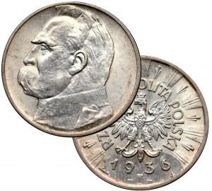 II Republic of Poland, 2 zloty 1936 Pilsudski