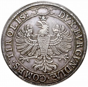 Austria, Leopold V and Claudia regency, 2 thalers without date (1635)