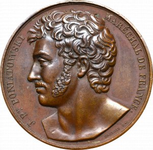 Poland, Medal prince J. Poniatowski 1813