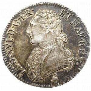 France, Ludovic XVI, Ecu 1791 Paris
