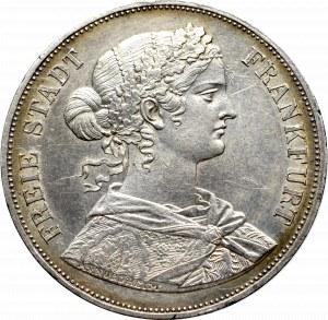 Germany, Frankfurt, 2 Vereinsthaler 1860
