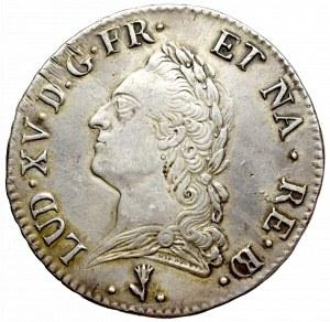 France, Ludovic XVI, Ecu 1772 Pau