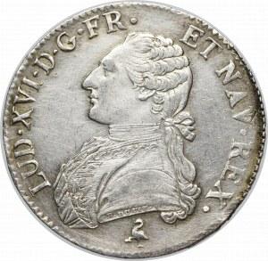 France, Ludovic XVI, Ecu 1784 Paris