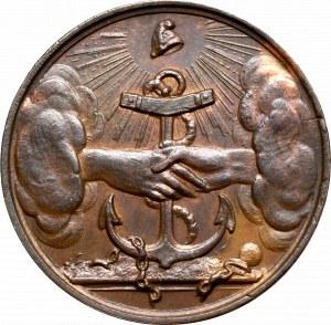 Polska, medal na trzecią rocznicę Powstania Listopadowego 1833
