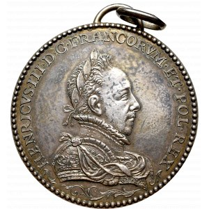 Polska/Francja, Medal Henryk III Walezy i Ludwika Lotaryńska