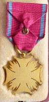 II Republic of Poland, Gold cross of service