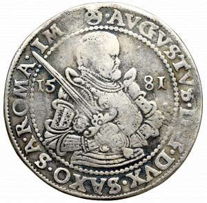 Germany, Saxony, August, Taler 1581