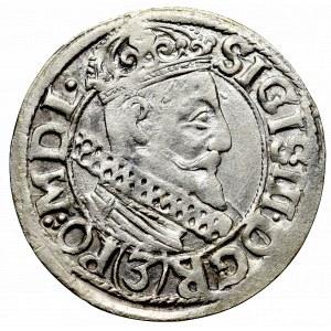 Sigismund III, 3 kreuzer 1618, Cracow