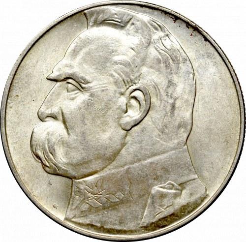 II Republic of Poland, 10 zloty 1937 Pilsudski