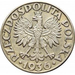 II Republic of Poland, 5 zloty 1936 Ship