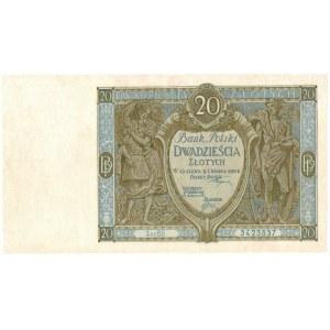 II Rzeczpospolita, 20 złotych 1926 Ser B.G.