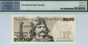 PRL, 2000 złotych 1979 AG - PMG 67EPQ
