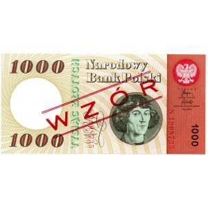 PRL, 1000 złotych 1965 S, WZÓR