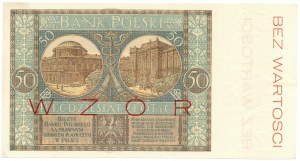 50 złotych 1925 - WZÓR - A