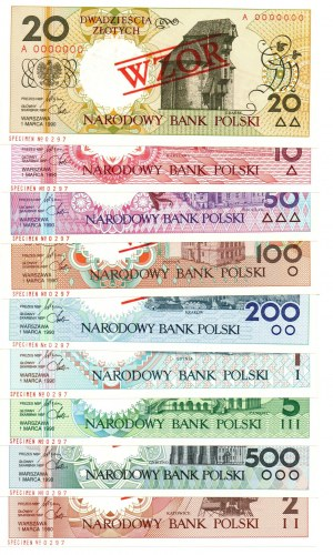 Miasta Polskie - komplet WZORÓW o numerze 297