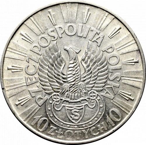 II Republic of Poland, 10 zloty 1934 Riffle eagle