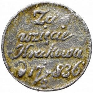 Wolne Miasto Kraków, Medal podłym służalcom 1836