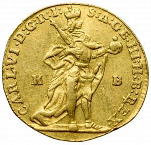 Hungary, Carl VI, Ducat 1737, Kremnitz