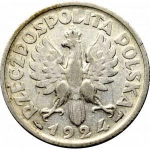 II Republic of Poland, 1 zloty 1924, Paris