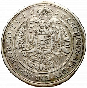 Hungary, Leopold I, Thaler 1693, Kremnitz