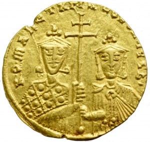 Byzantine, Romanus I Lacapenus, Solidus without date (920-944), Constantinople