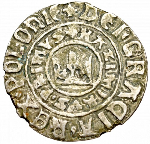 Kazimierz III Wielki, Grosz bez daty, Kraków - Fałszerstwo XIX w ?