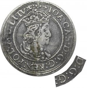 John II Casimir, 6 groschen 1652, Vilnius - probably unpublished mistake D:G:G