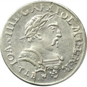 John III Sobieski, 6 groschen 1681, Cracow