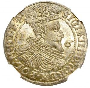 Sigismund III, 18 groschen 1625, Danzig - NGC MS66