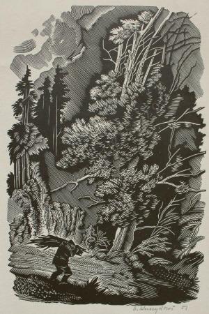 Edward Kuczyński (1905-1958), Człowiek z chrustem (1951)
