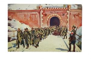 Powstanie Wielkopolskie Rozbrajanie armii niemieckiej w fortach poznańskich