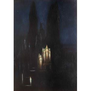 Bolesław Biegas (1877 Koziczyn - 1954 Paryż), Zamek hipnozy, 1924 r.