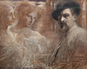 Franciszek Żmurko (1859 Lwów - 1910 Warszawa), Artysta i muzy